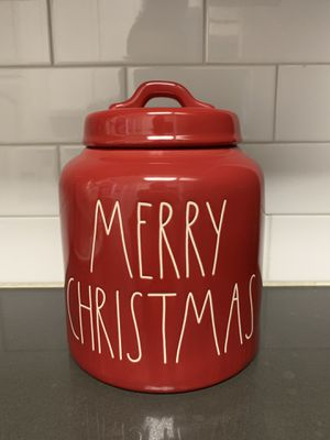 Rae Dunn Merry Christmas Canister for Sale in West Covina, CA