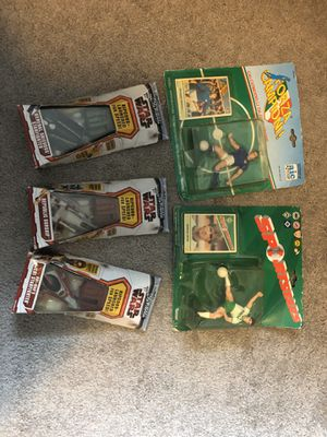 Stars and soccer figures for Sale in Bremerton, WA