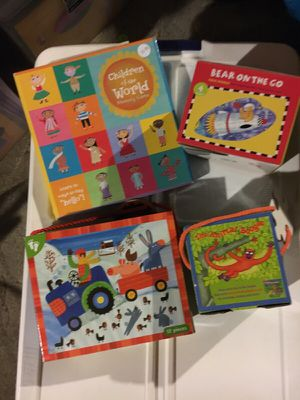New Puzzles and a matching Game for Sale in Malden, MA