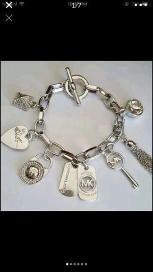 "Mk Michael kors charm bracelet 8.5"" for Sale in Silver Spring, MD"