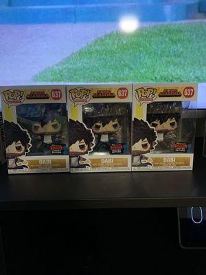Dabi fall convention funko pop for Sale in The Bronx, NY