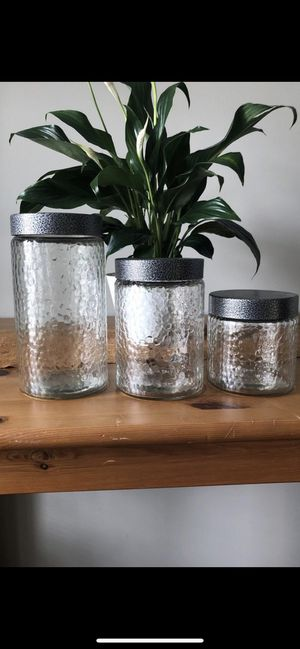 3 Glass Storage Containers for Sale in Washington, DC