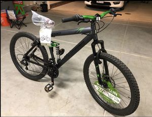 "(Brand New in the box) Genesis 26"" V2100 Men's Dual Suspension Mountain Bike, Slate Gray for Sale in West Covina, CA"