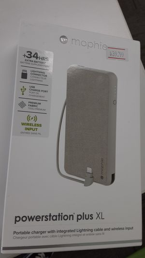 Mophie Powerstation plus XL for Sale in San Angelo, TX