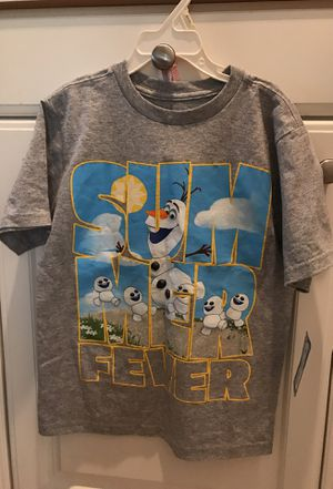 NEW Disney Olaf Top Size 5/6 $15 for Sale in San Dimas, CA