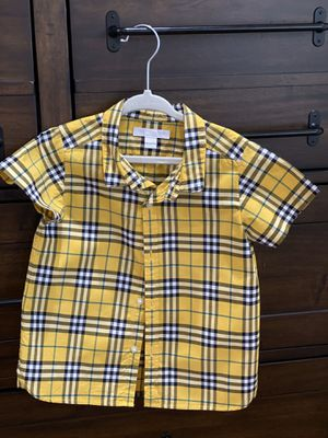 BURBERRY KIDS SHIRT 3Y for Sale in Miami, FL