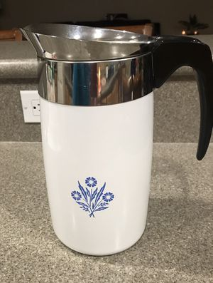 Corning Ware Coffee Pot - Cornflower Design for Sale in Winchester, CA