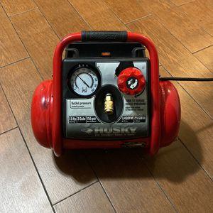 3 gallons Husky air compressor for Sale in Greenbelt, MD
