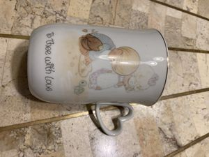 Precious moments decorative mug. for Sale in Duluth, GA