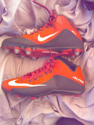 10 Red Nike Alpha cleats for Sale in Portland, OR