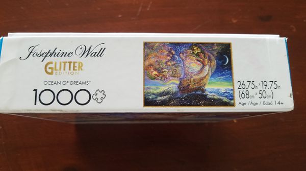 Josephine Wall Glitter Edition Buffalo puzzle 1000 pieces Negotiable