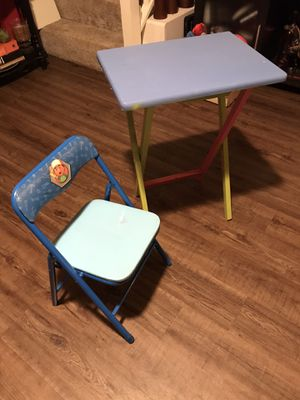 Kids table and chair set for Sale in Douglasville, GA