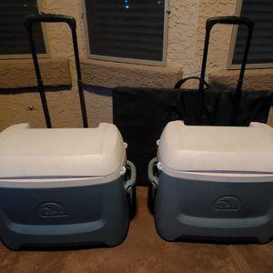 2 - Igloo Coolers On Wheels for Sale in Mesa, AZ