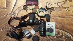 Canon t3i and accessories for Sale in Lake Stevens, WA