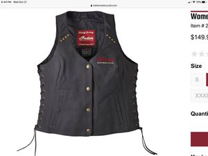 Indian motorcycle vest for Sale in Alpharetta, GA