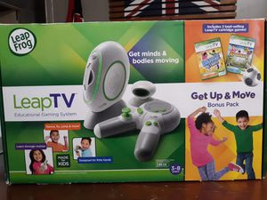 Rare LeapFrog LeapTV Educational Gaming System including 2 Best-selling Leap-TV Games for Sale in Telford, PA