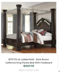 Ashley Cal King Bedroom Set for Sale in Durham,  NC