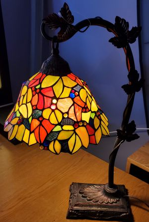 Tiffany Style Stained Glass Table Lamp for Sale in Medford, MA