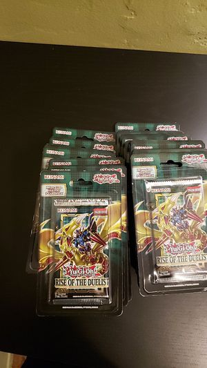 Rise of the duelist blister packs yugioh for Sale in Los Angeles, CA