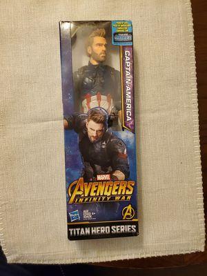 Avengers Infinity War Titan Hero Series Captain America for Sale in Katy, TX