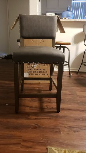 Leather bar stool for Sale in Colton, CA