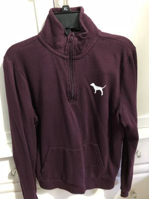 PINK maroon half zip hoodie for Sale in Annandale, VA