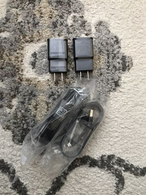 Samsung Charger Sets x2 Black Micro USB for Sale in Citrus Heights, CA