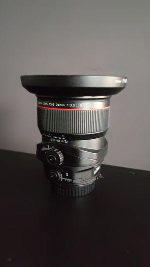 Canon TS-E 24mm f3.5L II Tilt-Shift Lens for Sale in Fort Worth, TX