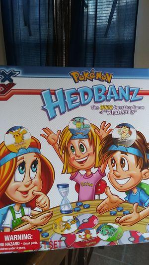 Hedbanz Pokemon exclusive for Sale in San Antonio, TX