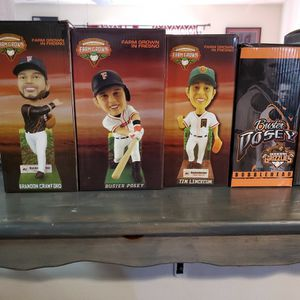 Fresno Grizzlies Bibbleheads for Sale in Fresno, CA