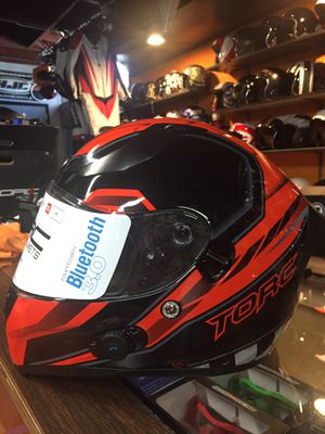 New Bluetooth dot motorcycle helmet $200 for Sale in Whittier, CA
