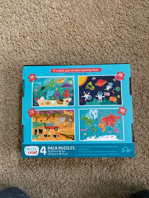 Buffalo Games Chuckle & Roar 4 pack puzzles for Sale in Beaverton, OR