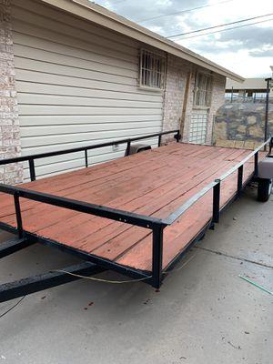 2017 single axe utility trailer for Sale in El Paso, TX