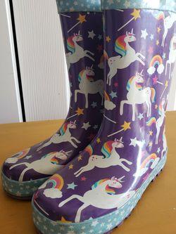 Western Chief Girls Rainboots Sz 1 for Sale in East Wenatchee,  WA