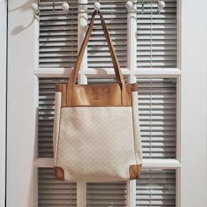 Authentic Gucci Vintage Monogram Tote Tan for Sale in Fort Myers, FL
