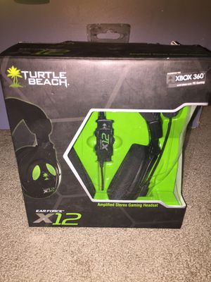 Turtle Beach Earforce X12 Gaming Headset for Sale in Sanger, CA