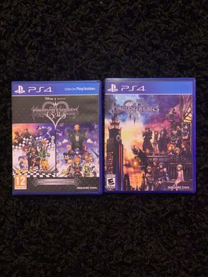 Kingdom Hearts 1.5+2.5 and 3 Bundle PS4/PS5 Games for Sale in Philadelphia, PA