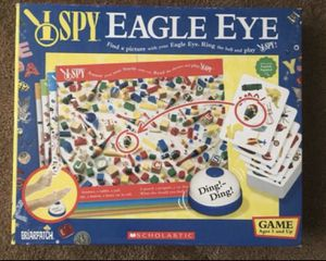 $9 FIRM - BOARD GAME - I SPY EAGLE EYE - **NEW, NEVER USED* for Sale in Glendale, AZ