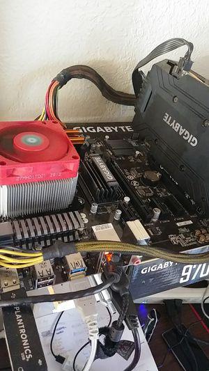 Barebone Gaming Computer AMD & Gigabyte 6 Core 16gb Gaming Ram for Sale in Portland, OR