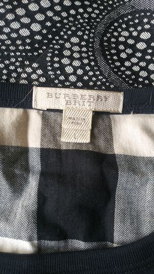 Burberry long sleeve shirt worn once amd dry cleaned for Sale in Langhorne, PA