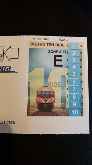 10 Ride Metra - Rock Island for Sale in Orland Park, IL