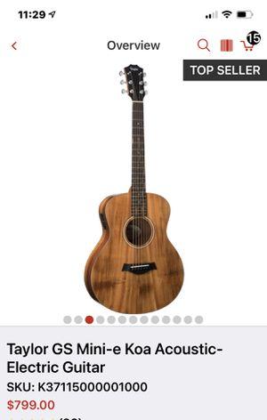 Taylor GS Mini Guitar for Sale in Riverside, CA