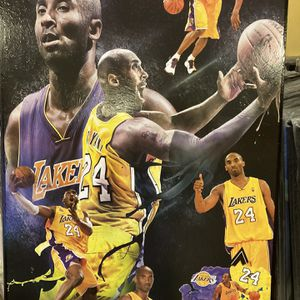 Kobe Bryant Los Angeles Lakers Frames Cuadros Posters for Sale in South Gate, CA