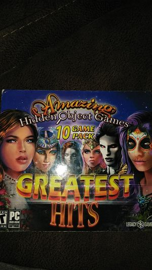 Hidden object game PC for Sale in Dallas, TX