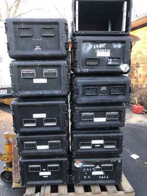 Rack mount cases for servers, music amps, ect for Sale in Columbus, OH