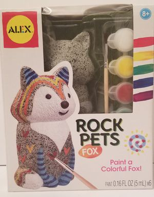ALEX Toys Craft Rock Pets Fox for Sale in Milton, PA