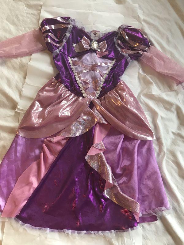 Elsa and Tangled costume