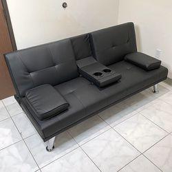 "$190 (brand new) futon sofa bed 65x30x31"" for Sale in Whittier,  CA"