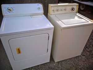 Washer and Electric Dryer lg capacity for Sale in Modesto, CA