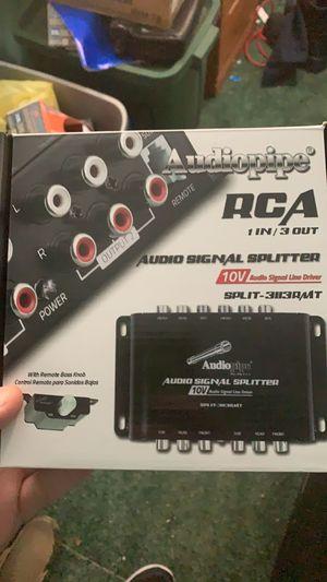 10v rca splitter for Sale in Millsboro, DE